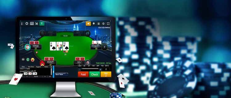 Site for playing poker