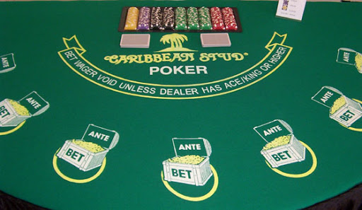 Caribbean Stud Poker play